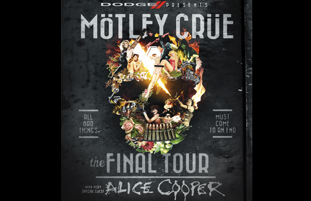 Motley Crue the Final Tour with Alice Cooper
