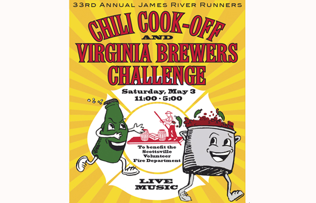 James River Runners 33rd Annual Chili Cook-Off and Brewers Challenge